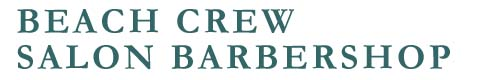 Beach Crew Salon Barbershop Logo